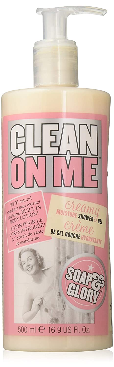 Soap Glory trend rank Max 73% OFF Clean On Me Shower Body Gel Lotion and