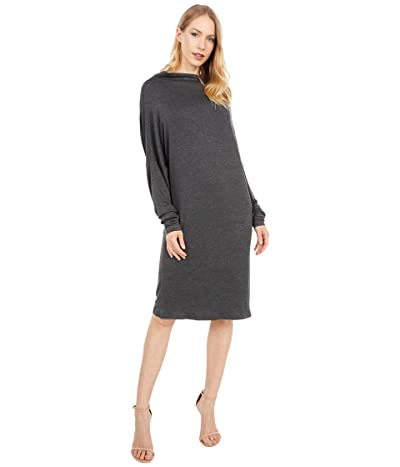 KAMALIKULTURE by Norma Kamali All-In-One Dress (Dark Grey) Women