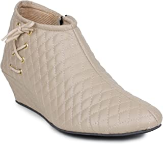 BEPS Stylish & Fashionable Synthetic Ankle Boot's for Women