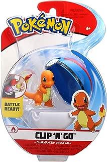 Bandai - Pokémon - Poké Ball & sa figurine 5 cm Salamèche - WT97644
