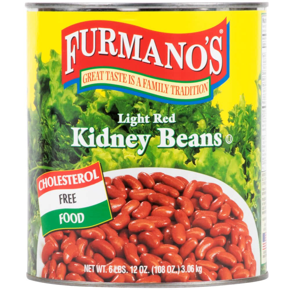 TableTop King #10 Can Light Red 6 Beans Max 47% OFF - Kidney Case shipfree