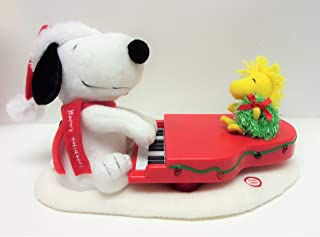 Peanuts SNOOPY AND WOODSTOCK CHRISTMAS ANIMATED/MUSICAL/LIGHT-UP Piano/Plush (2009 Edition)