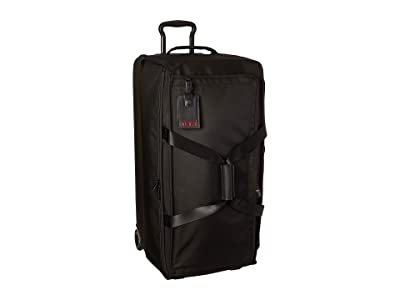 Tumi Alpha 3 Large Split 2 Wheeled Duffel (Black) Luggage