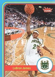 2012-13 Fleer Retro Basketball #2 LeBron James High School
