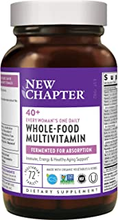 New Chapter Women's, Every Woman's One Daily 40+, Fermented with Probiotics + Vitamin D3 + B Vitamins + Organic Non-GMO In...