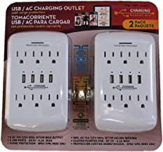 Charging Essentials Essantials USB AC Charging Outlet, White