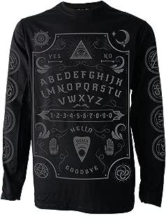 Darkside Clothing Ouija Board Grey Font Longsleeve Mens Jersey Top