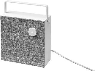 IKEA ENEBY Bluetooth Speaker, White, 20x20cm (Bluetooth Speaker with Battery - White)