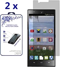 [2-Pack] ZTE Lever LTE/Z936L / Z936C Tempered Glass , Premium Tempered Glass Screen Protector, Anti-scratch Bubble-free, 0.26mm (For ZTE Lever LTE/Z936L / Z936C)