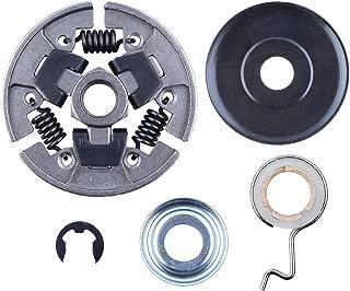 AUNMAS Piezas de Repuesto del Conjunto de Escape del silenciador aptas para la Motosierra Husqvarna 550XP 545 550 XP