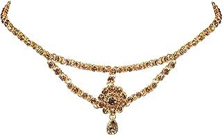 WomenSky Stylish White Stone kamarpatta Jewellery for Women kamarband for Girls ottiyanam Waist Jewelry for Women Hip Belt...