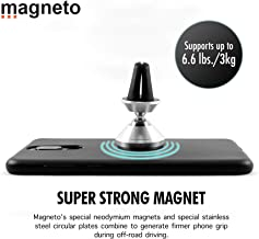 Magneto Magnetic air-Vent Phone Holder-Mount Universal Stand for iPhone X 8 7 7P 6s 6P 5S Galaxy S9 S8 S7 S6 Google Pixel LG Huawei Latest Smartphone