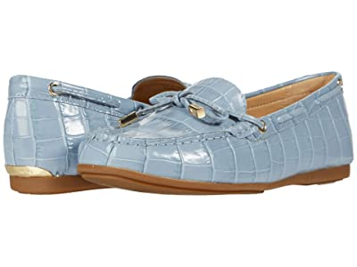 MICHAEL Michael Kors Sutton Moc (Pale Blue) Women
