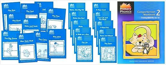 Primary Phonics Skills Set 2: CVCe, ie, oe, ee, oa, ai, ea (3 Books) - Primary Phonics 2 Set of 10 Storybooks, More Primar...