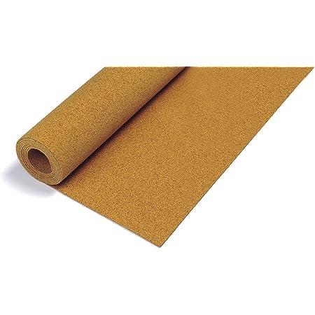 "QEP Natural Cork Underlayment Roll - 1/4"" (6 mm) - 200 sq. ft., 48"" x 50' (72000Q) , Brown"