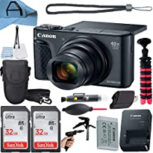 $429 » Canon PowerShot SX740 HS Digital Camera 20.3MP Sensor with 2 Pack SanDisk 32GB Memory Card, Case, Tripod and A-Cell Access...