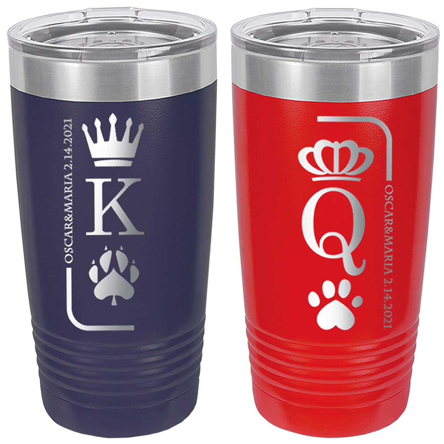 Valentine's outlet Regular store Day Couples Matching Gift Tumblers Coffee Insulated