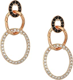 Swarovski - Greeting Ring Pierced Earrings
