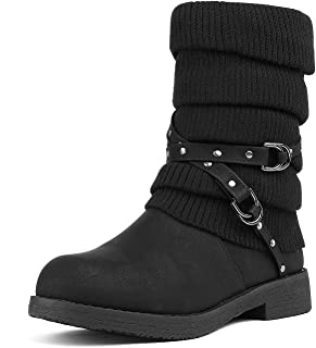 Women's Mid Calf Fashion Winter Snow Boots