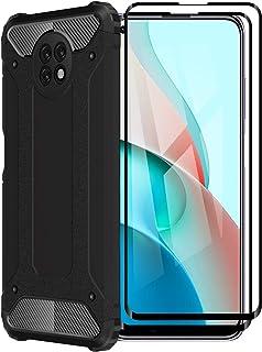 FINEONE® Funda para Xiaomi Redmi Note 9T 5G, protección contra Golpes de TPU + PC Resistente a arañazos (Doble Capa) Carca...