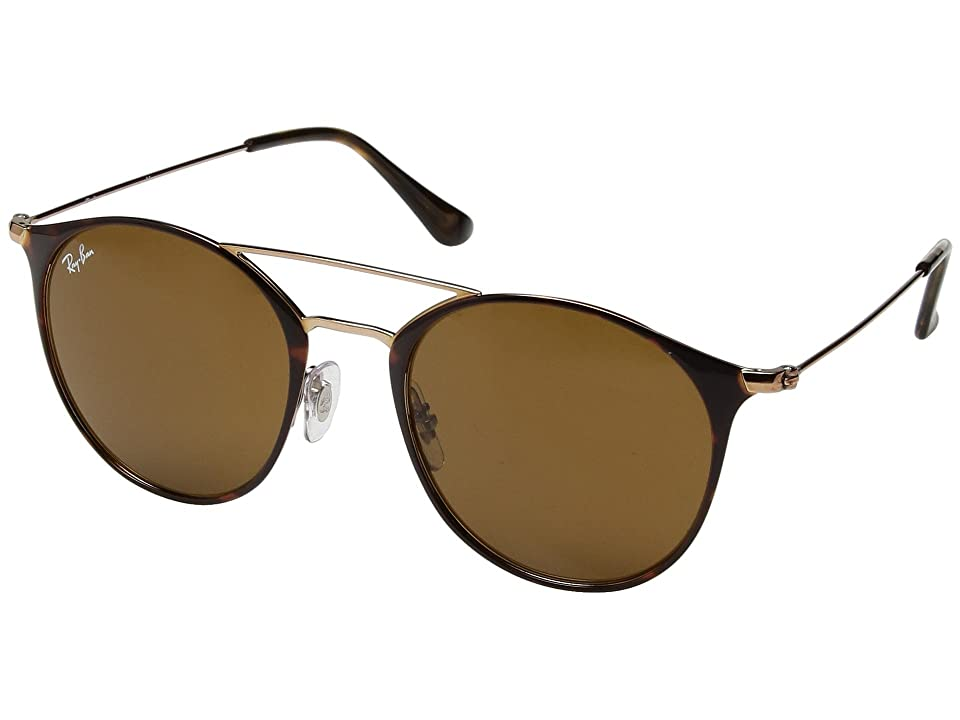 Ray-Ban 0RB3546 52mm (Copper On Top Havana/Brown) Fashion Sunglasses