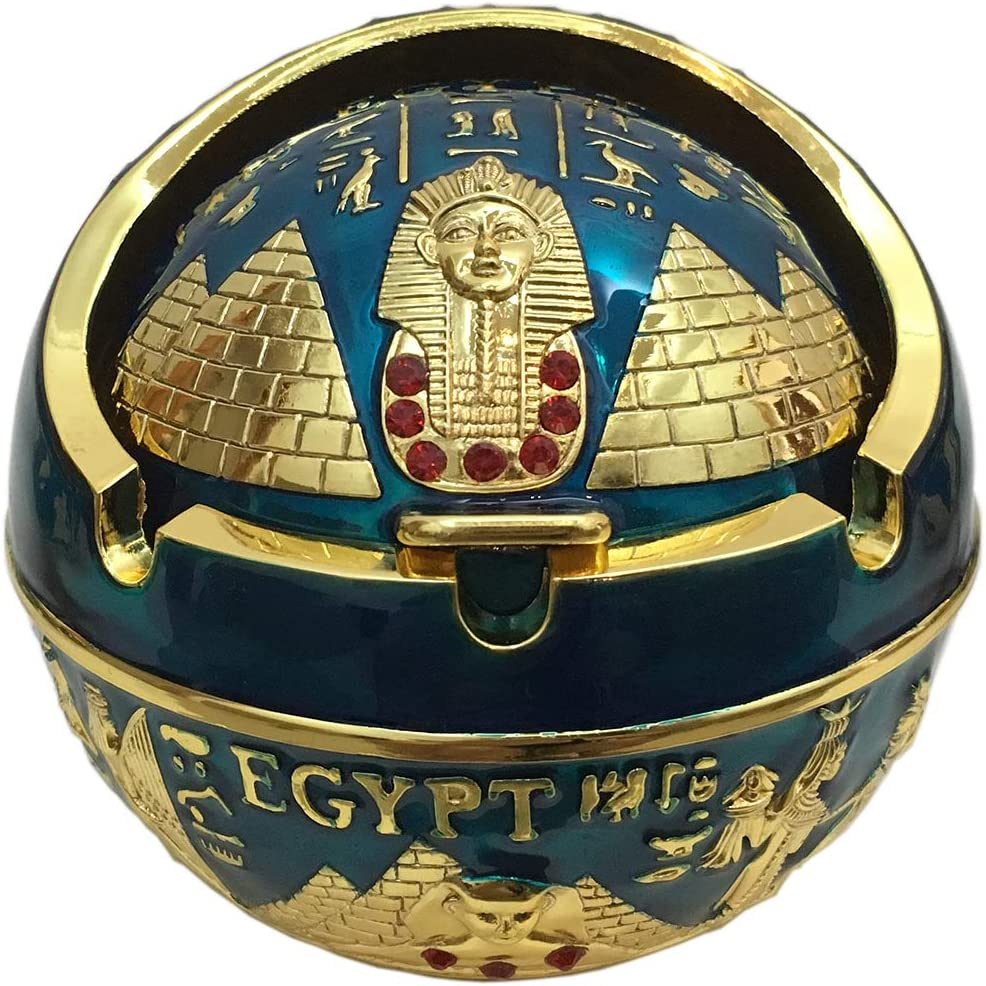 Exquisite Exotic Ashtray 67% OFF of fixed price Brand new Ancient Egypet Egyptian Style Pyramid o
