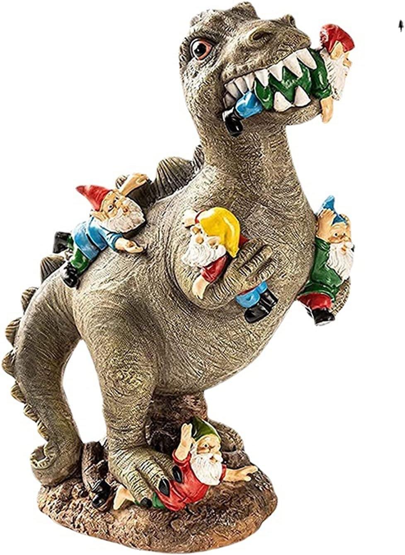 OFFicial store KINGGOO EMVO Funny Dinosaur Garden Yard Sculpture Statue shop Gnome