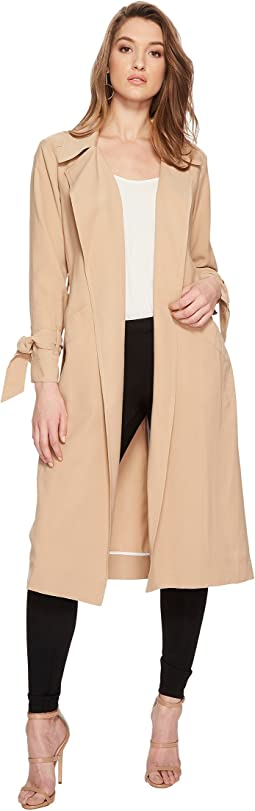 1.STATE Belted Trench Coat