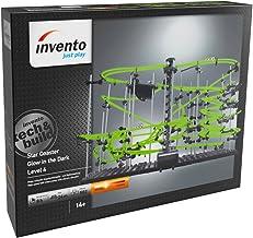 Invento just play 501931Star Coaster: Glow in The Dark Niveles 4, canicas, construcción de Juguete