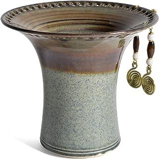 pottery earring holder