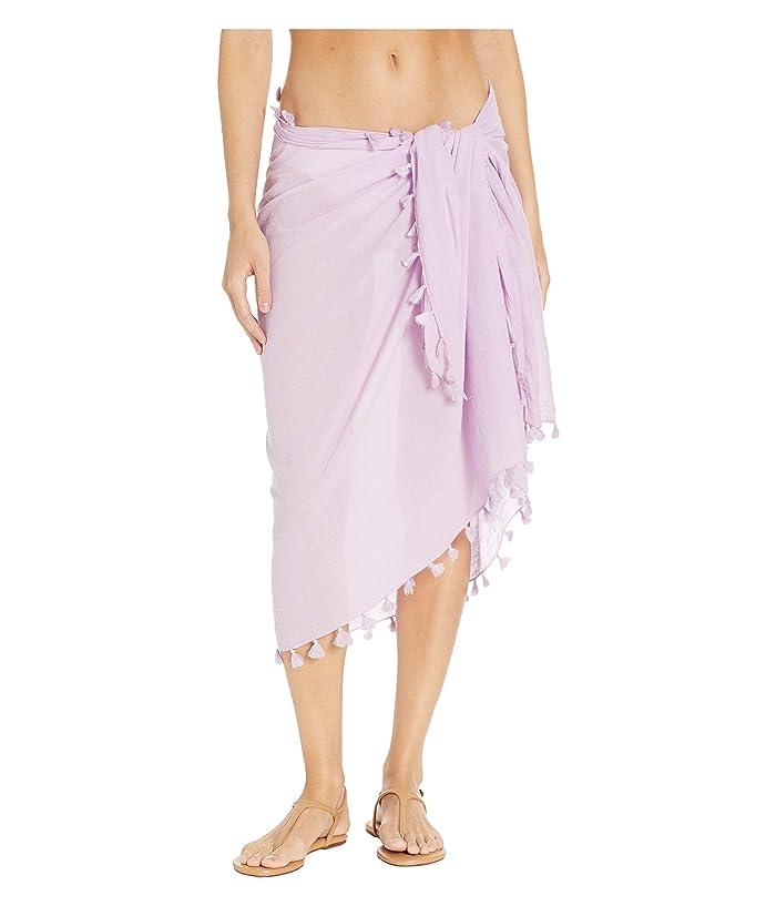 Seafolly Cotton Gauze Sarong (Lilac) Women
