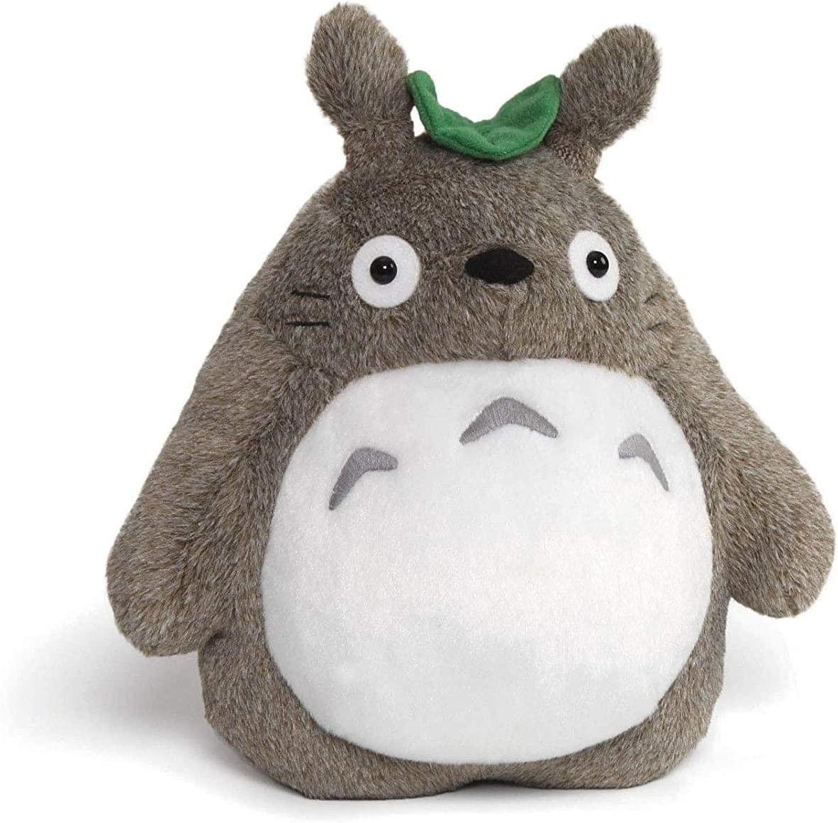 Gund Totoro Deluxe With Leaf Plush Figure 9 Toys Games Amazon Com