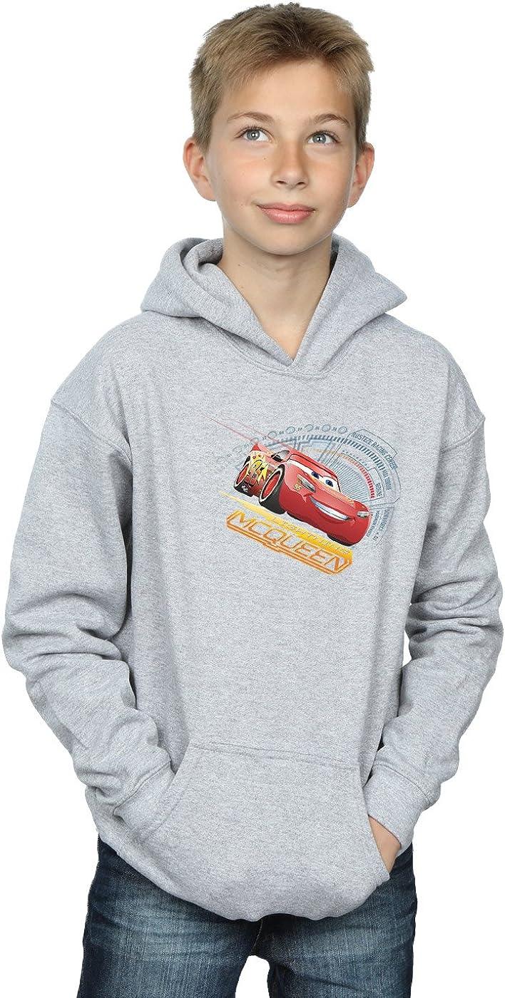 Disney Boys Cars Lightning McQueen Hoodie 5-6 Years Sport Grey