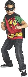 Rubies Teen Titans Go Robin Costume, Child Large