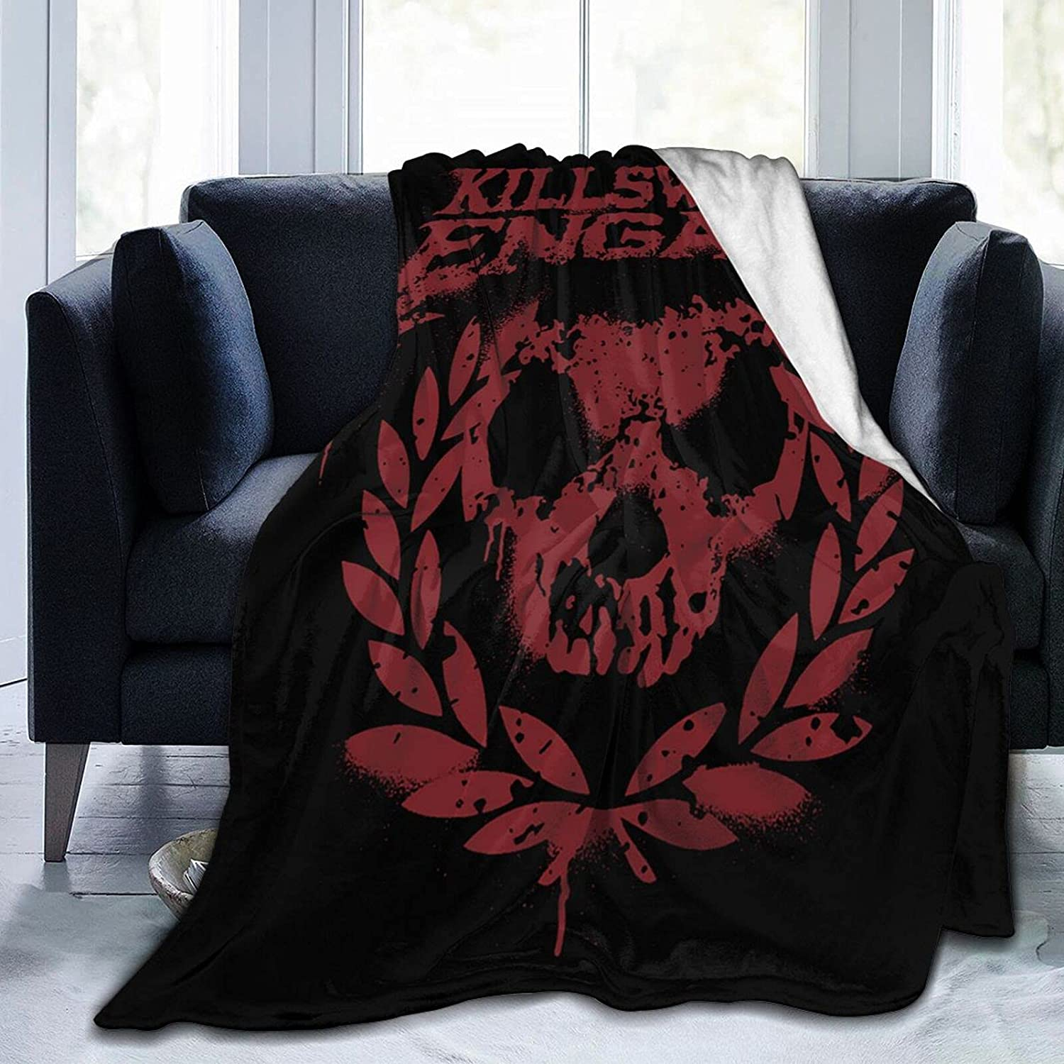 Killswitch-Engage Soft and Warm Cheap Dallas Mall mail order shopping Throw Micro Fleece Blanket