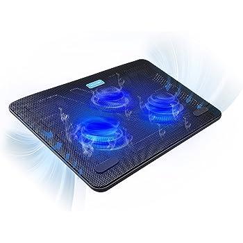 Trust Cyclone Supporto per Laptop con 2 Ventole di Raffreddamento