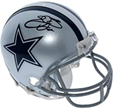 Emmitt Smith Dallas Cowboys Autographed Signed Riddell Mini Helmet - PSA/DNA and PROVA Authentic