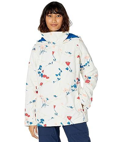 Burton Jet Set Jacket (Stout White Landscape Floral) Women