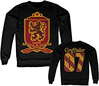 Officially Licensed Inked Harry Potter - Gryffindor 07 Sweatshirt (Black)