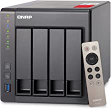 QNAP TS-451+-2G-US 4-Bay Next Gen Personal Cloud NAS, Intel 2.0GHz Quad-Core CPU with Media Transcoding