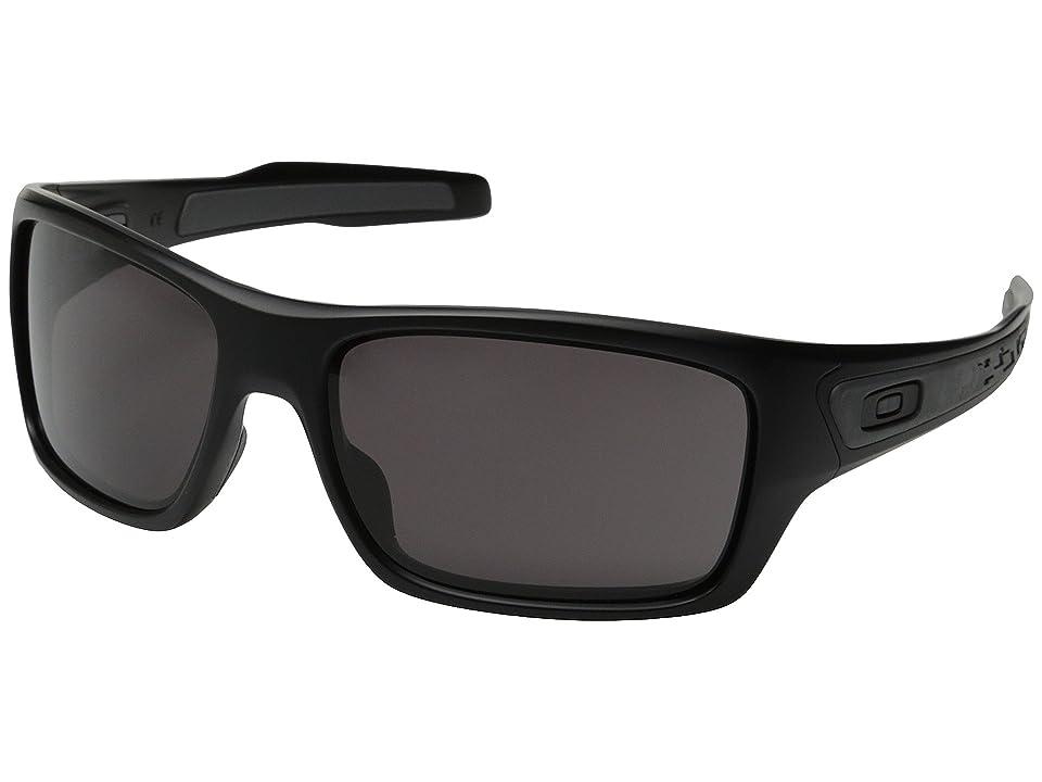 Oakley Turbine (Matte Black/Warm Grey) Sport Sunglasses