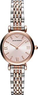Emporio Armani Womens Quartz Watch, Analog Display and Stainless Steel Strap AR11223
