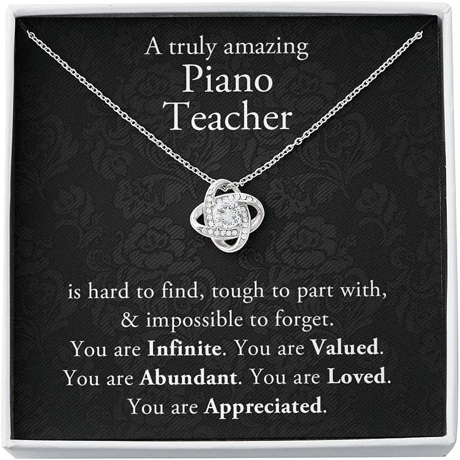 A truly Bombing new work amazing Piano for Gift unisex Necklace Teacher