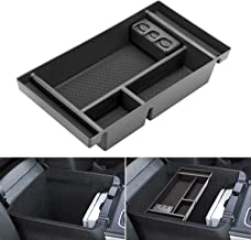 Center Console Organizer for 2019 Chevy Silverado 1500 / GMC Sierra 1500 Accessories ABS Tray Armrest Box Secondary Storage