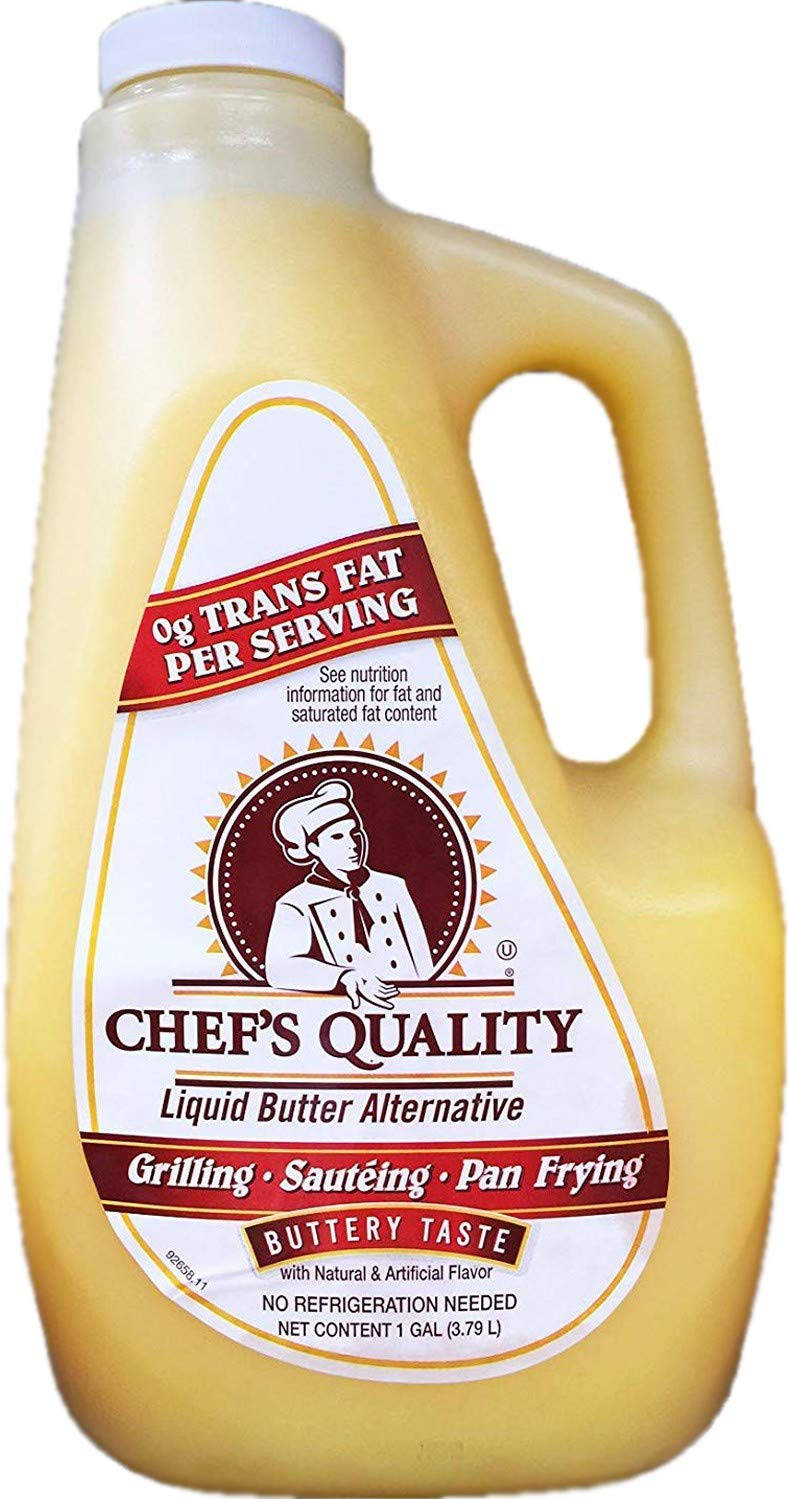 Chef's Quality: Liquid Butter Alternative Pack Case 1 Popular 3 Max 42% OFF Gallon