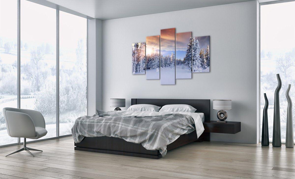 pour la Chambre et Le Salon Triptyque Mural avec Un Nombre Diff/érent D/él/ément D/écoration Murale Divers imprim/és Impression sur Verre GEA150x100-2433