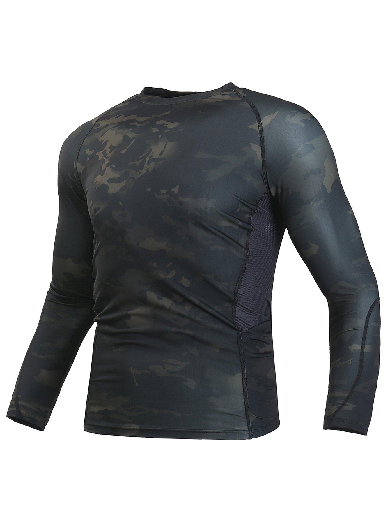 WARCHIEF 战术长袖短袖衬衫迷彩* T 恤运动装