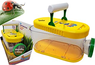 Musical Bugs Insects Catcher, Keeper Box | Habitat Kit with Magnifying Lens Box with Handle, Plays 3 Songs