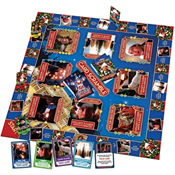 Herrschners Christmas Vacation Card Scramble Board Game