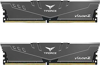TEAMGROUP T-Force Vulcan Z DDR4 16GB Kit (2x8GB) 3200MHz (PC4-25600) CL16 Desktop Memory Module...